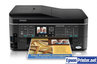 How to reset Epson WorkForce 630 printer