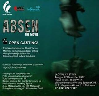 open casting film indie di makassar gratis