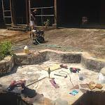 Courtyard Pressure Wash