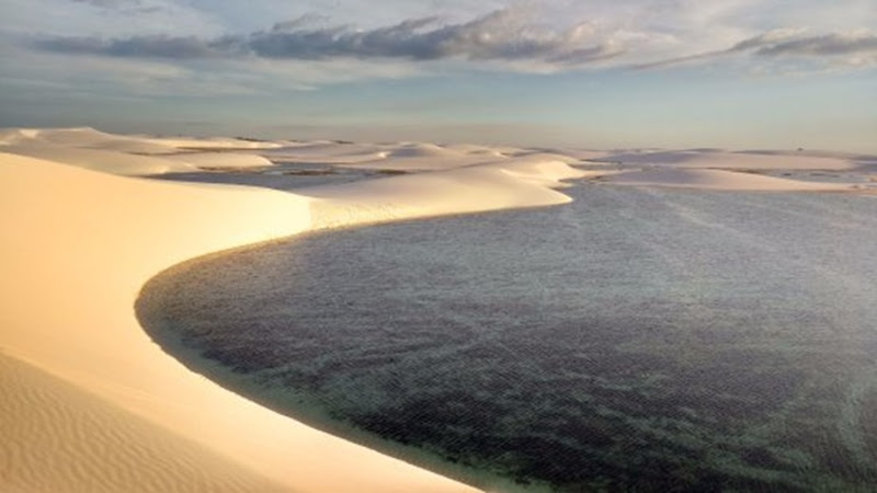Lagoa da Gaivota - Santo Amaro do Maranhao