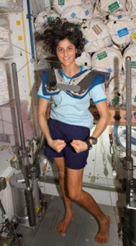 Astronaut Sunita Williams Sets The Record Straight And Long