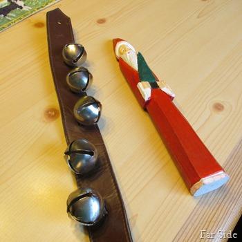 Santa before