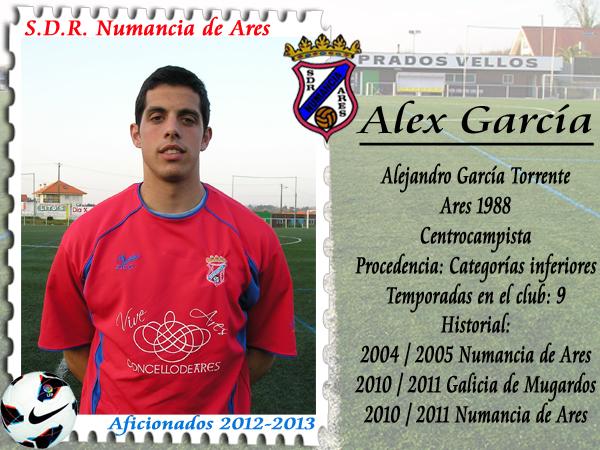 ADR Numancia de Ares. Alex García