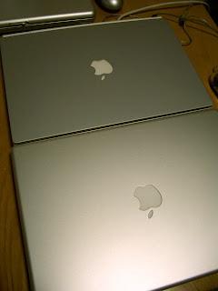 2つのPowerBook G4