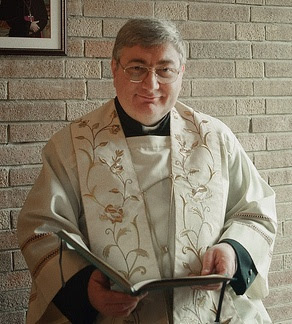 don Giuseppe Minto, parroco di Mussetta