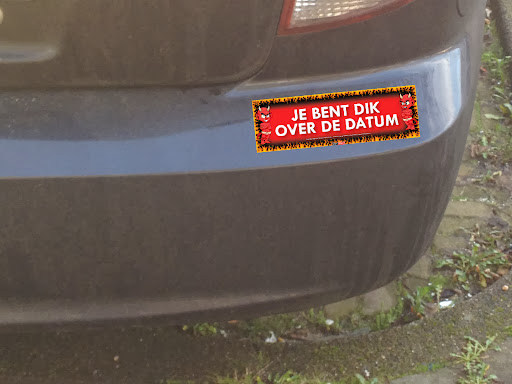 Fun bumperstickers