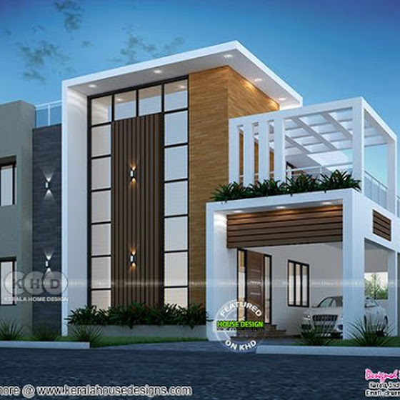 2707 sq-ft modern contemporary house