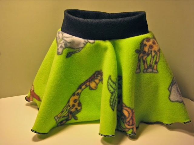 Zoo Animals Soaker w/ skirtie Large