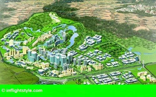 Hình 1: Hoà Lạc sẽ thành đô thị công nghệ, nghỉ dưỡng, sinh thái