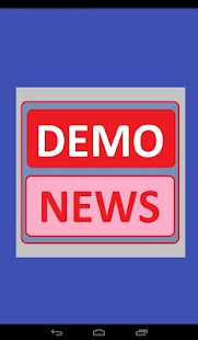 Local News Demo- screenshot thumbnail