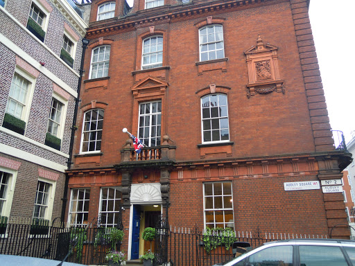 Audley Square - from the James Bond walking tour - one of the best walking tours in London