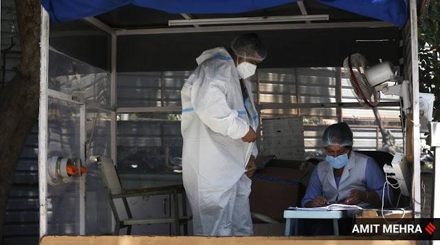 स्वास्थ्य मंत्रालय का कहना है कि अब तक लगभग 3.6 करोड़ covid -19 परीक्षण किए गए हैं