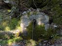 La fontaine de Petralata non loin du départ