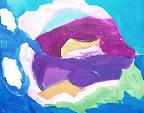 Purple Flower by Tayla
