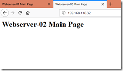 Webserver-02 Main Page