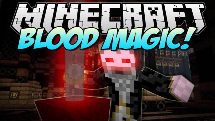Minecraft Blood Magic Mod 1.16.4