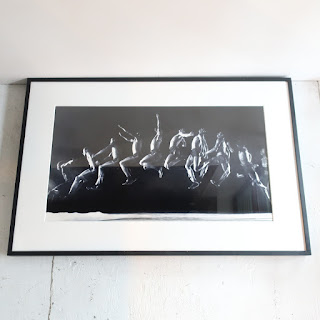 Long Jump Multiple Exposure Large-Scale Photograph