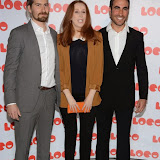 OIC - ENTSIMAGES.COM - Jon Drever, Catherine Tate and Brett Goldstein  at the LOCO Superbob UK film Premiere Q and A at BFI London 24th January 2015 Photo Mobis Photos/OIC 0203 174 1069