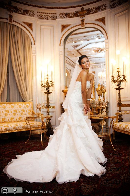 Foto de casamento 0323 de Daniele e Kenneth. Marcações: 24/07/2010, Casamento Daniele e Kenneth, Fotos de Vestido, La Novia, Rio de Janeiro, Vestido, Vestido de Noiva.