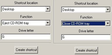 cd dvd keyboard shortcut