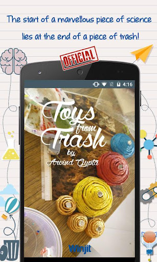 Toys From Trash - Arvind Gupta