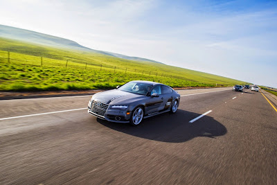 Audi A7 Piloted Driving Concept Drives Silicon Valley to Las Vegas Drive 17