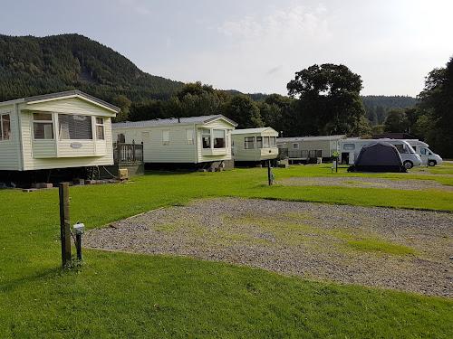 Faskally Caravan Park at Faskally Caravan Park