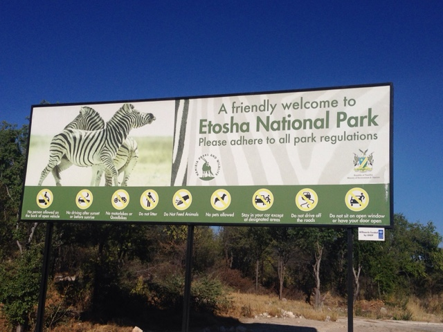 Namibia 3, Etosha NP!