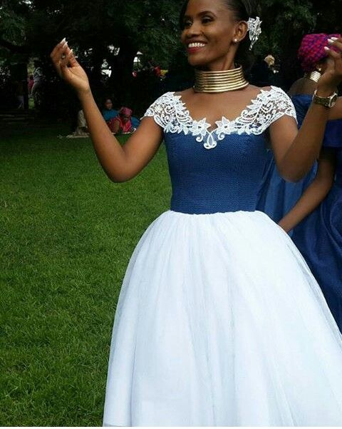 latest shweshwe dresses in South Africa in 2019 7