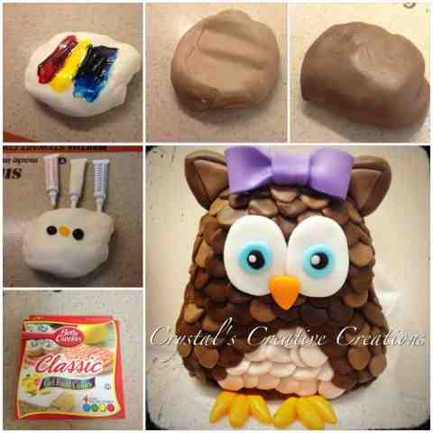 Crystal\'s Creative Creations: How to make brown fondant ...
