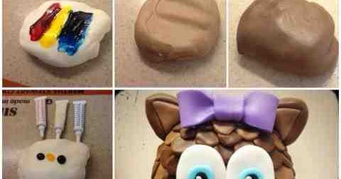 how to mix food coloring to make brown