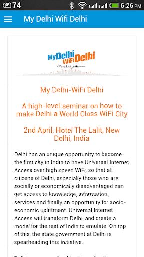 My Delhi WiFi Delhi