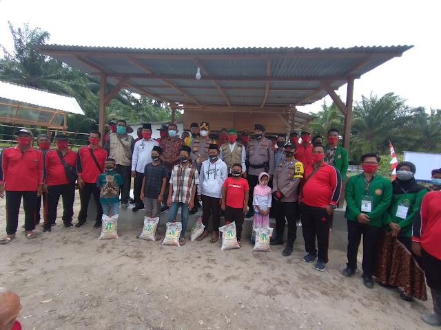 Kapolres Batu Bara Kembali Resmikan 2 Kampung Tangguh di Kecamatan Sei Suka
