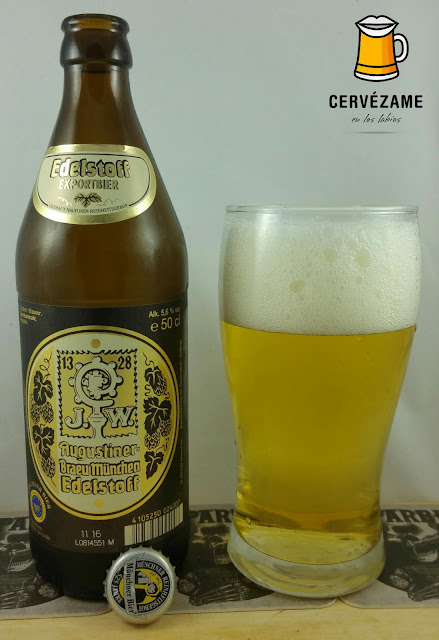 cerveza beer Augustiner Edelstoff cervezame