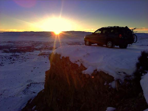Post-ride sunset spot