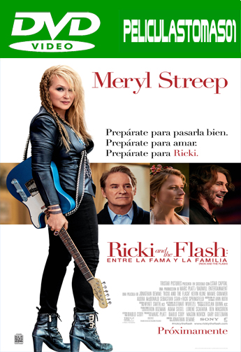 Ricki and the Flash: entre la fama y la familia (2015) DVDRip