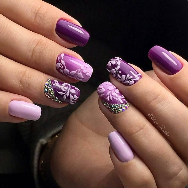 Latest Chrome Nail Art Designs For Woman In 2018 7