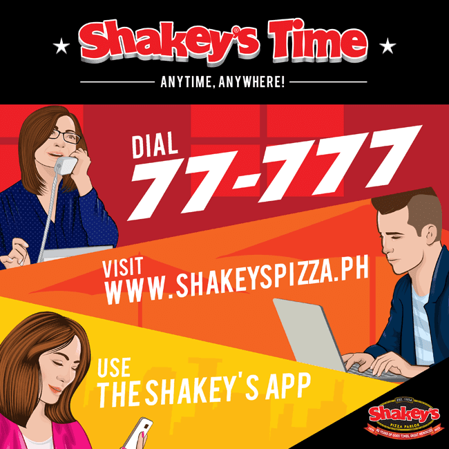Shakey's Time Giveaway: Win Shakey's Monster Meal Deal GCs