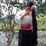 7. Young woman of Yao. Longsheng