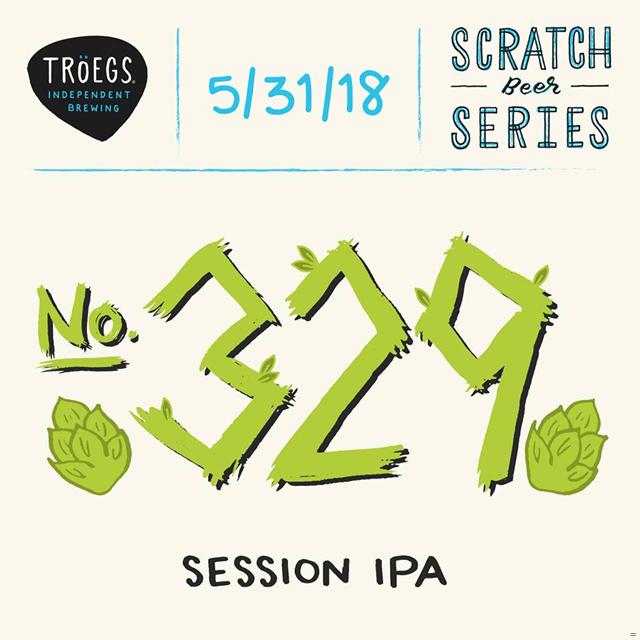 Troegs Releasing Scratch # 329 - Session IPA