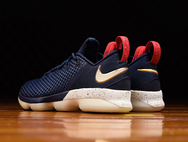 Closer Look at Nike LeBron 14 Low  Cavs Alternate  USA