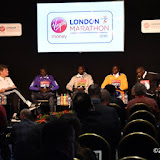 OIC - ENTSIMAGES.COM - Dennis Kimetto, Wilson Kipsang, Stanley Biwott and Eliud Kipchoge at the  Virgin Money London Marathon Press Conference Tower bridge London 20th April 2016 Photo Mobis Photos/OIC 0203 174 1069