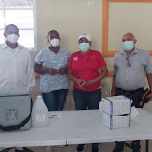 Distrito 01-05 y salud pública realizan jornada de vacunación desde el sábado hasta el Lunes