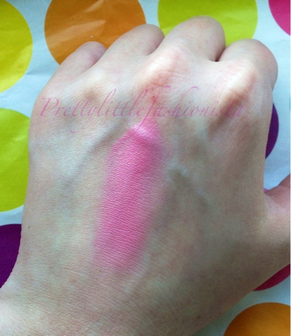 MUA Cream Blush Bittersweet Swatch