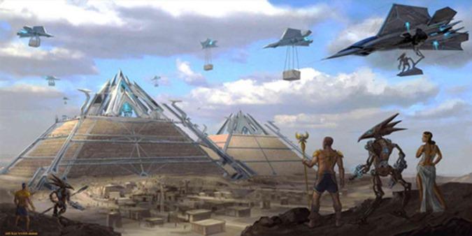 Quem eram os deuses antigos da raça humana 04