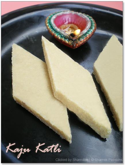 Kaju Katli Recipe