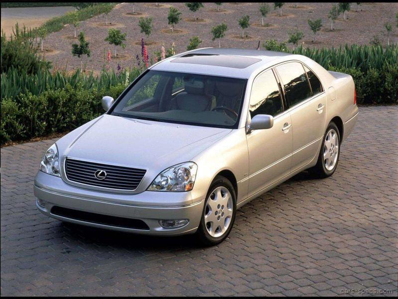 2003 lexus ls 430 sedan specifications pictures prices. Black Bedroom Furniture Sets. Home Design Ideas