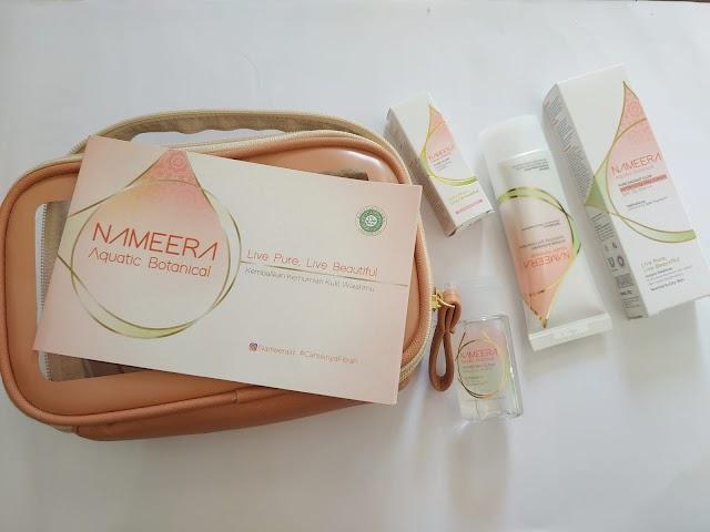 [Review] Nameera Aquatic Botanical Starter Kit, Skincare Bersertifikat Halal dengan Bahan Natural