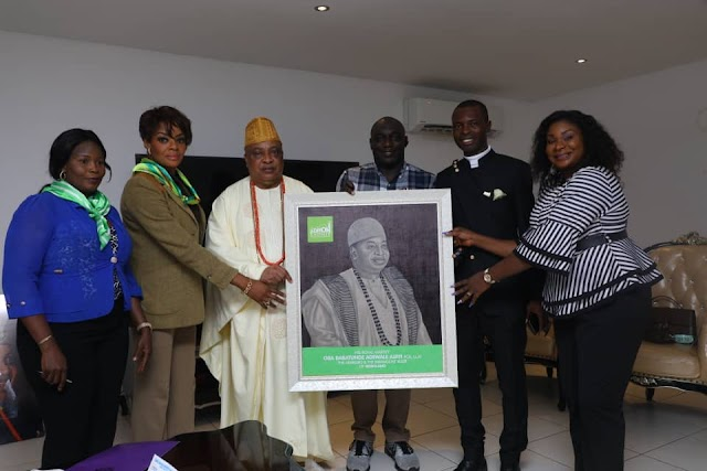 Adron Homes Felicitates with Akarigbo  Over Appointment As Chancellor Petroleum Training Institute, Delta