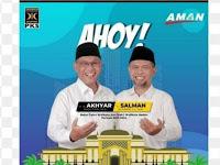 Ditetapkan Sebagai Calon Wawa, Salman Bersyukur Pilkada Medan Tak Lawan Kotak Kosong